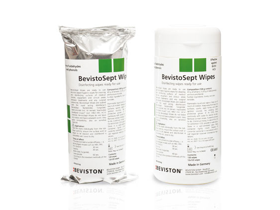 BevistoSept Wipes* - surface disinfection