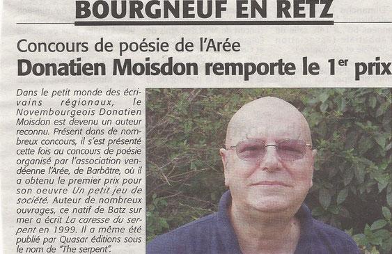 """Vendredi 22 Novembre 2013 - """"Le Courrier du Pays de Retz"""""""