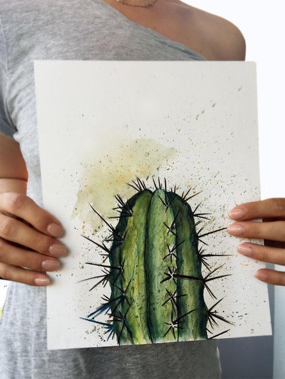 Mexiko 2018 |Aquarell & Farbstifte