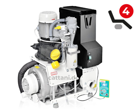 Cattani - Dental-Absauganlagen - Turbo-Smart 2V