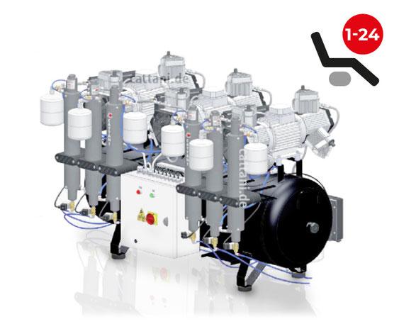 Cattani - 6-Zylinder-Tridem-Kompressor