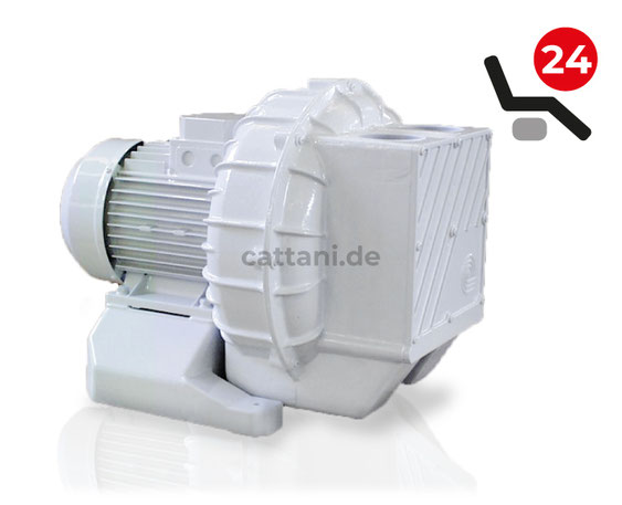 Cattani - Trocken-Absauganlagen - 2 Maxi-jet 2S