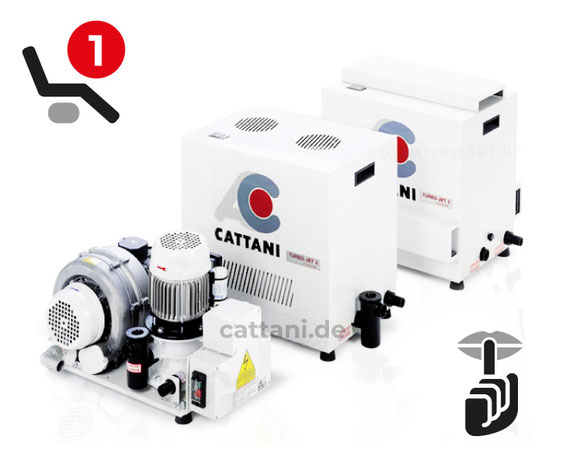 Cattani - Dental-Absauganlagen - Turbo-Jet 1
