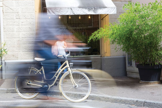 Lucky Star Sargans - Cresta Velos, Trekkingbikes, Citybikes, E-Bikes, Elektrovelos und E-Mountainbikes von Cresta.