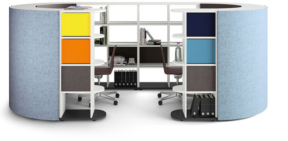 basic flow – office shelf system
