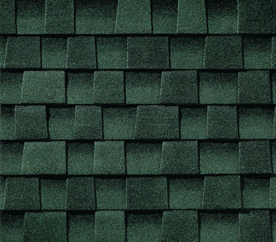 Dachówka bitumiczna , gont, gonty, GAF, Timberline HD w kolorze Hunter Green
