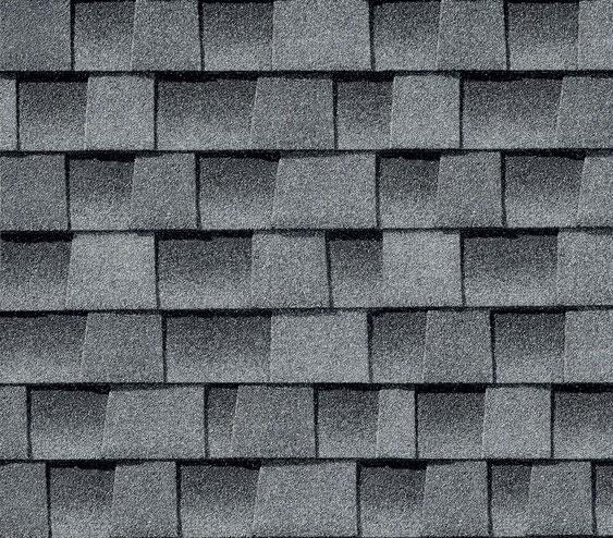 Dachówka bitumiczna, gont, gonty, GAF,  Timberline HD w kolorze Oyster Gray