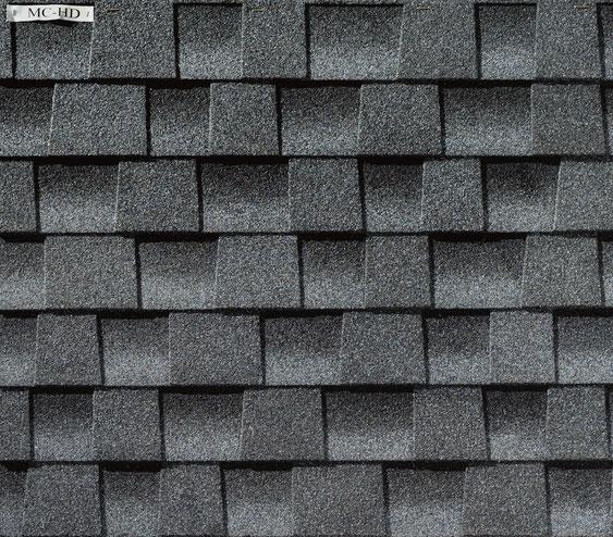 Dachówka bitumiczna, gont, gonty, GAF,  Timberline HD w kolorze Pewter Gray