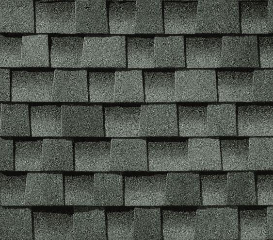 Dachówka bitumiczna, gont, gonty, GAF, Timberline HD w kolorze Slate