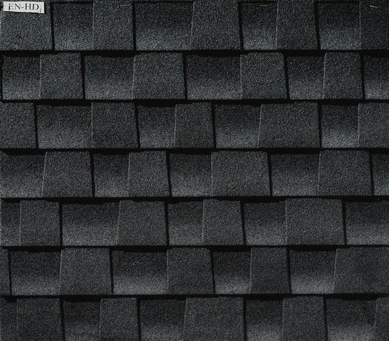 Dachówka bitumiczna, gont, gonty, GAF, Timberline HD w kolorze Charcoal