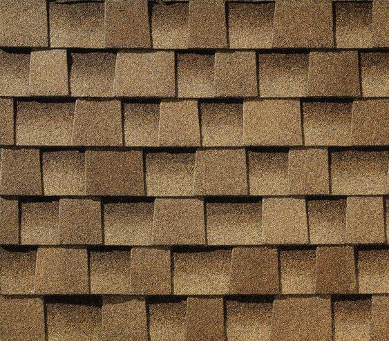 Dachówka bitumiczna, gont, gonty, GAF Timberline HD w kolorze Shakewood