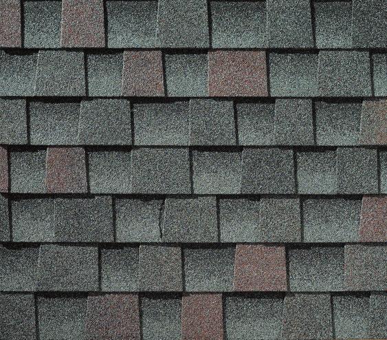 Dachówka bitumiczna, gont, gonty, GAF, Timberline HD w kolorze  Williamsburg Slate