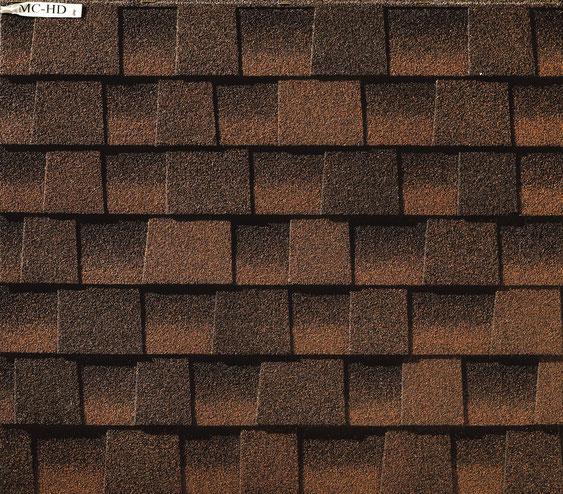 Dachówka bitumiczna, gont, gonty, GAF Timberline HD w kolorze Hickory