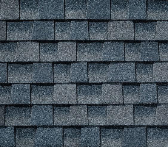 Dachówka bitumiczna, gont, gonty, GAF,  Timberline HD w kolorze Biscayne Blue