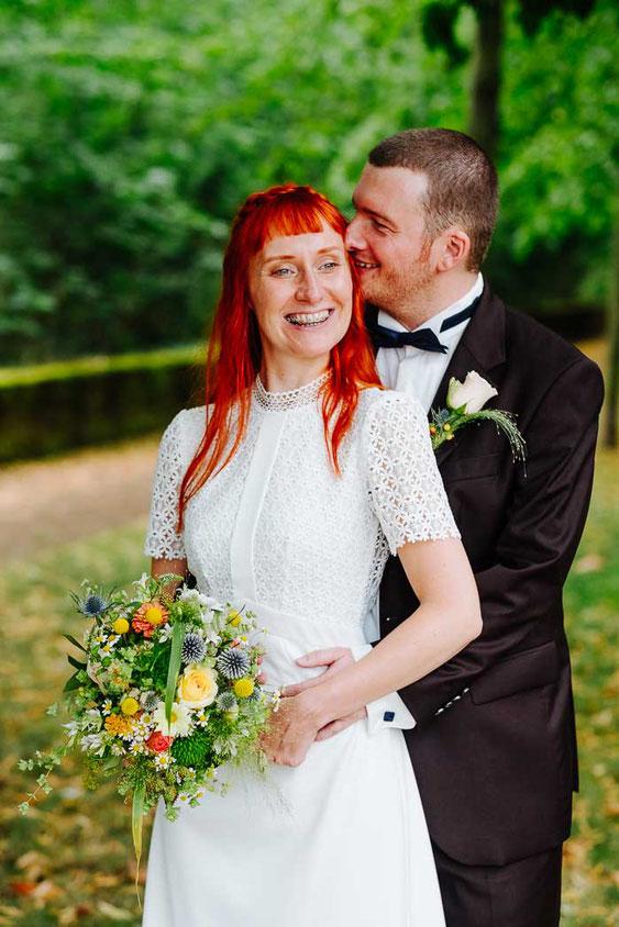 Hochzeitsreportage Frankfurt - Hochzeitsfotograf Frankfurt- Hochzeitskleid