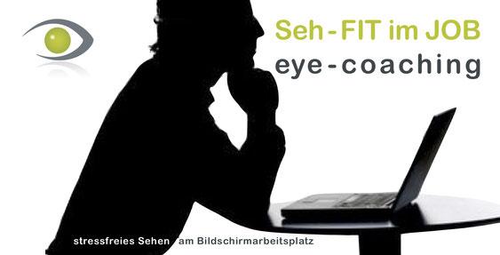 SehFIT im Job, eye coaching, Augenschule Buchheit, Augentraining für Firmen, Kommunen