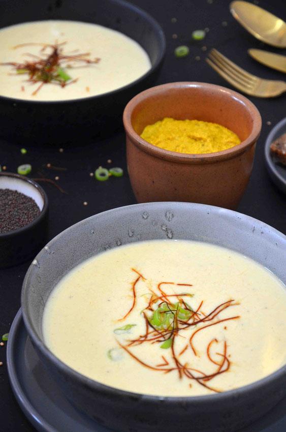 Der Lieblingssenf - ob selbst gemacht oder gekauft - steuert hier die perfekte Basis für die Suppe dazu. Natürlich können auch Senfvariationen genommen werden, um die Suppe dementsprechend geschmacklich zu beeinflussen.