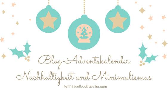 Blog-Adventskalender - Nachhaltigkeit und Minimalismus Grafik