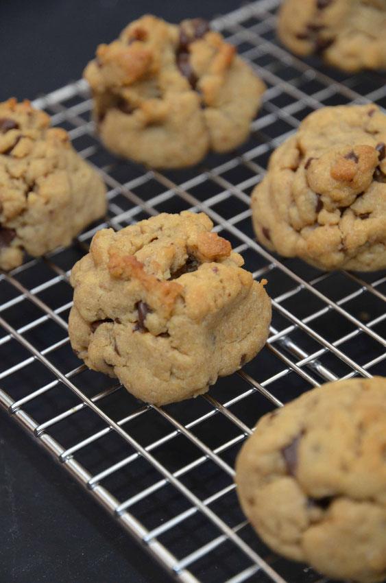 Erdnuss-Schokoladen-Kekse