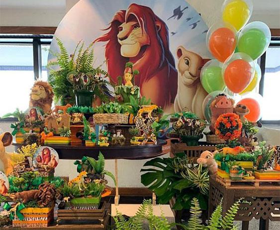 fiesta infantil del rey leon