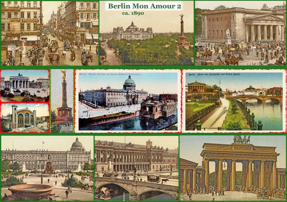 Berlin um 1890, Berlin Mon Amour 2   - Berlin historisch