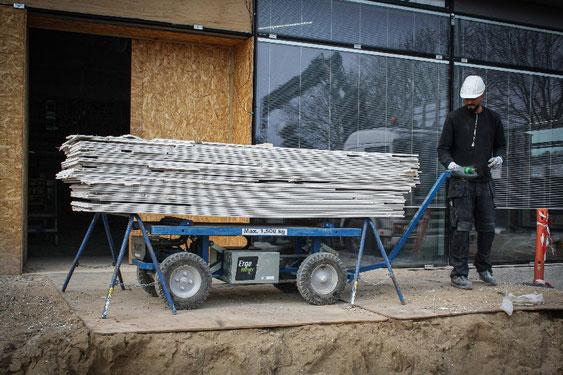 Elektrischer Transportwagen Ergomover bis 1500kg Traglast