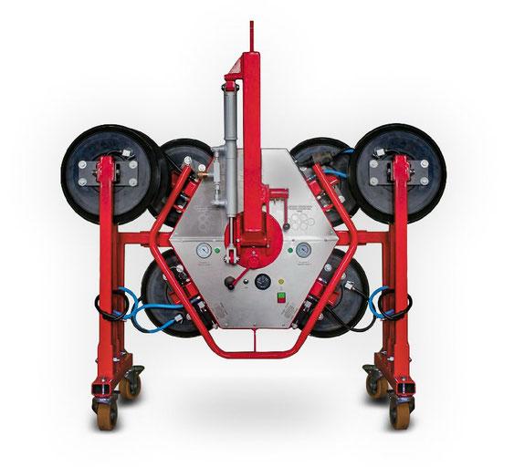 Vakuum- Glassauger bis 300 kg mieten und kaufen
