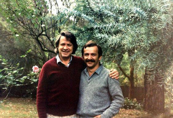 Paul Smith & Tony Zois - late 1980s at Eltham, Victoria