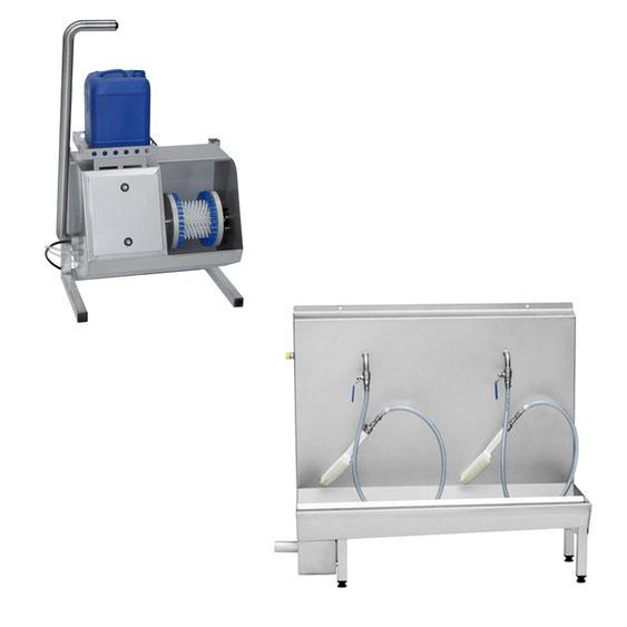 Sohlenreinigungsmaschinen Hygienetechnik