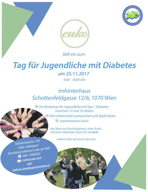 Tag für Jugendliche mit Diabetes - Unterstützung von