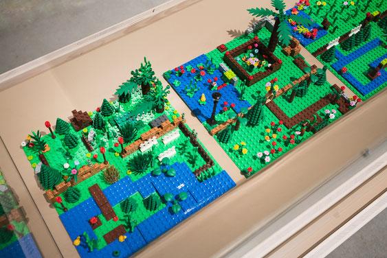 Wienss Innenausbau GmbH - Innenausbau, Objektbau, Museumsbau - hier: Gartenmuseum Lennestadt - www.wienss-innenausbau.de - Lego Garten