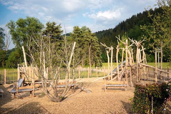 Wienss Innenausbau GmbH - Innenausbau, Objektbau, Museumsbau - hier: Gartenmuseum Lennestadt - www.wienss-innenausbau.de - Ansicht Abenteuerspielplatz