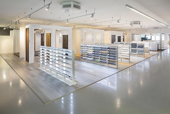 Wienss Innenausbau GmbH - Innenausbau, Objektbau KONZ Baustoffe Waiblingen - Bodenbeläge