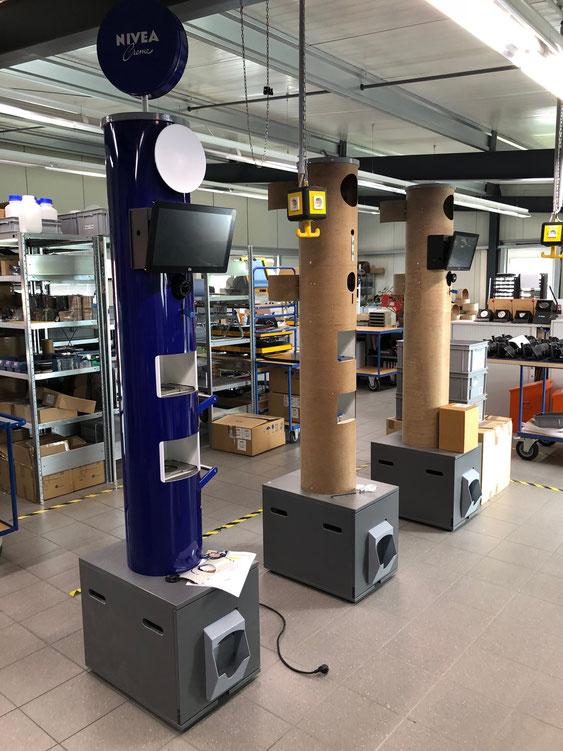 Wienss Innenausbau GmbH - Serienfertigung von Serien und Kleinserien in der CNC Schreinerei. - Photobooth 2.0 - Serienfertigung