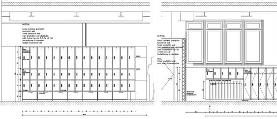 Wienss Innenausbau GmbH - Forscherfabrik Schorndorf - Innenausbau, Objektbau, Museumsbau Foyer - Spinde und Schränke