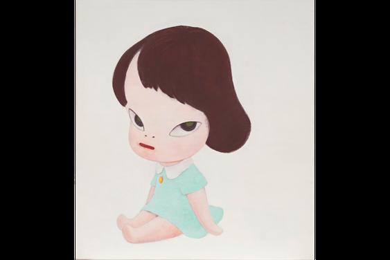 奈良美智《Hot House Doll,In the White Room III》,1995年