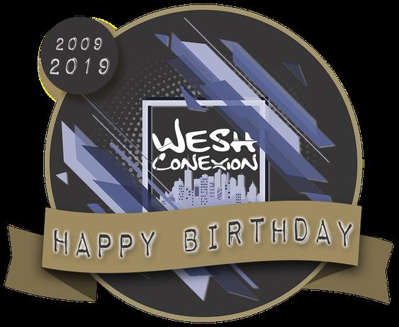 Wesh Conexion - Les 10 ans de l'asso - logo 1