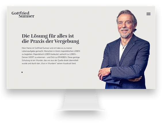 Webdesign Agentur: WordPress Webseite für Start with a Friend (Flüchtlingshilfe)