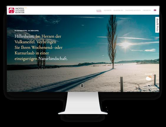 Jimdo Agentur: Jimdo Webseite für ein Hotel