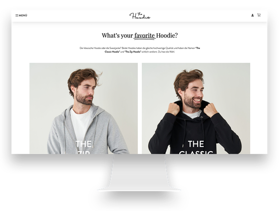 WordPress Agentur Hamburg Mode-Webshop