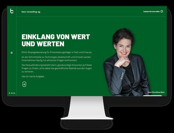 WordPress Agentur Baur Consulting Schweiz