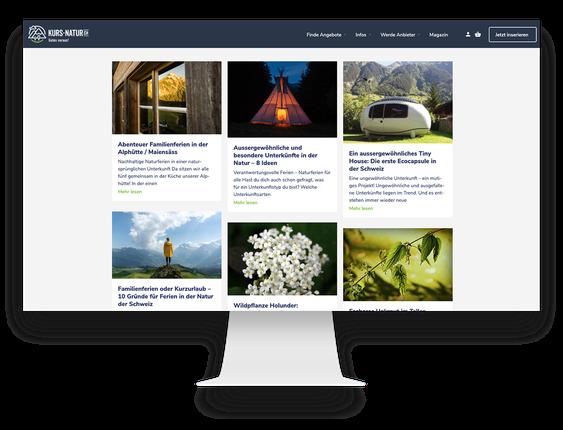 SEO Agentur: Suchmaschinenoptimierung für Kurs Natur