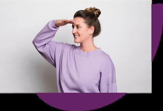 Regina Höflich, Geschäftsführerin und Zukunftsoptimistin bei der adeve Werbeagentur