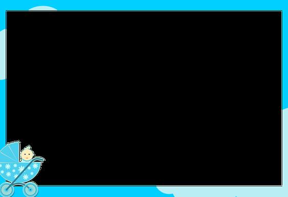 מסגרת למגנט מותאם לברית בצבע כחול