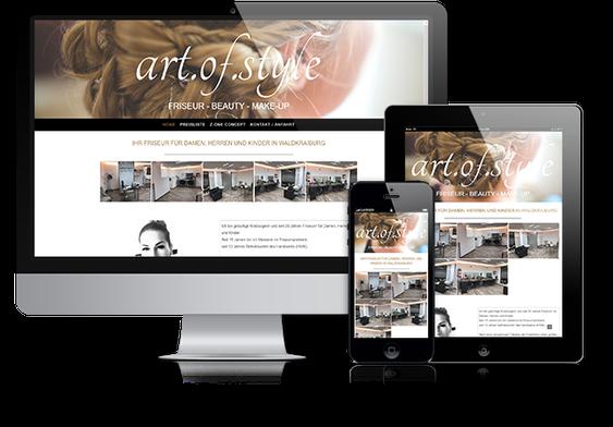 Firmenwebsite mit Jimdo