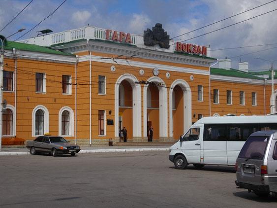 Bahnhof von Tiraspol, Transnistrien