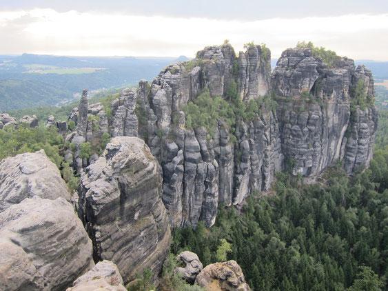 Schrammsteine, Elbsandsteingebirge