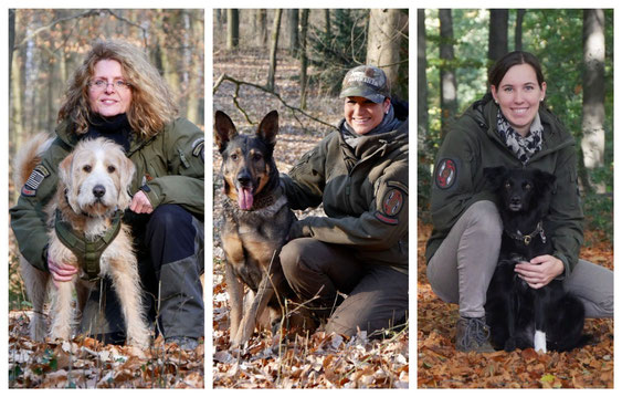 Jenny, Corinna, Anja P., Anja L.