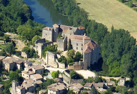 Bruniquel (Tarn-et-Garonne, sud-ouest de la France)