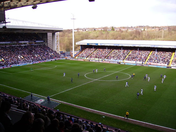 Ewood Park: 2009. Photo taken from almost the exact position as the 1935 photo above.
